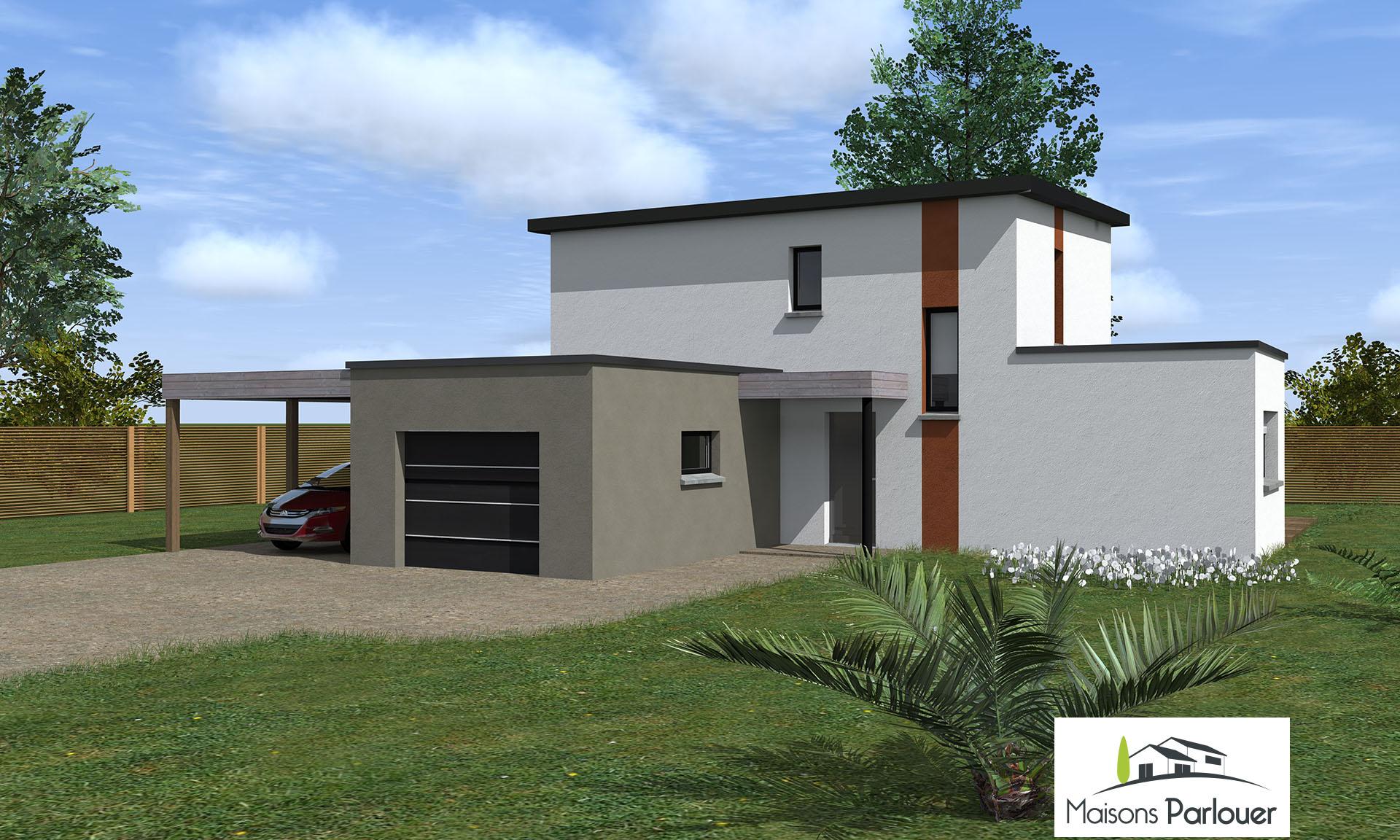 Projets d 39 une superficie entre 130 et 160 m2 non cat goris for Projets de maisons