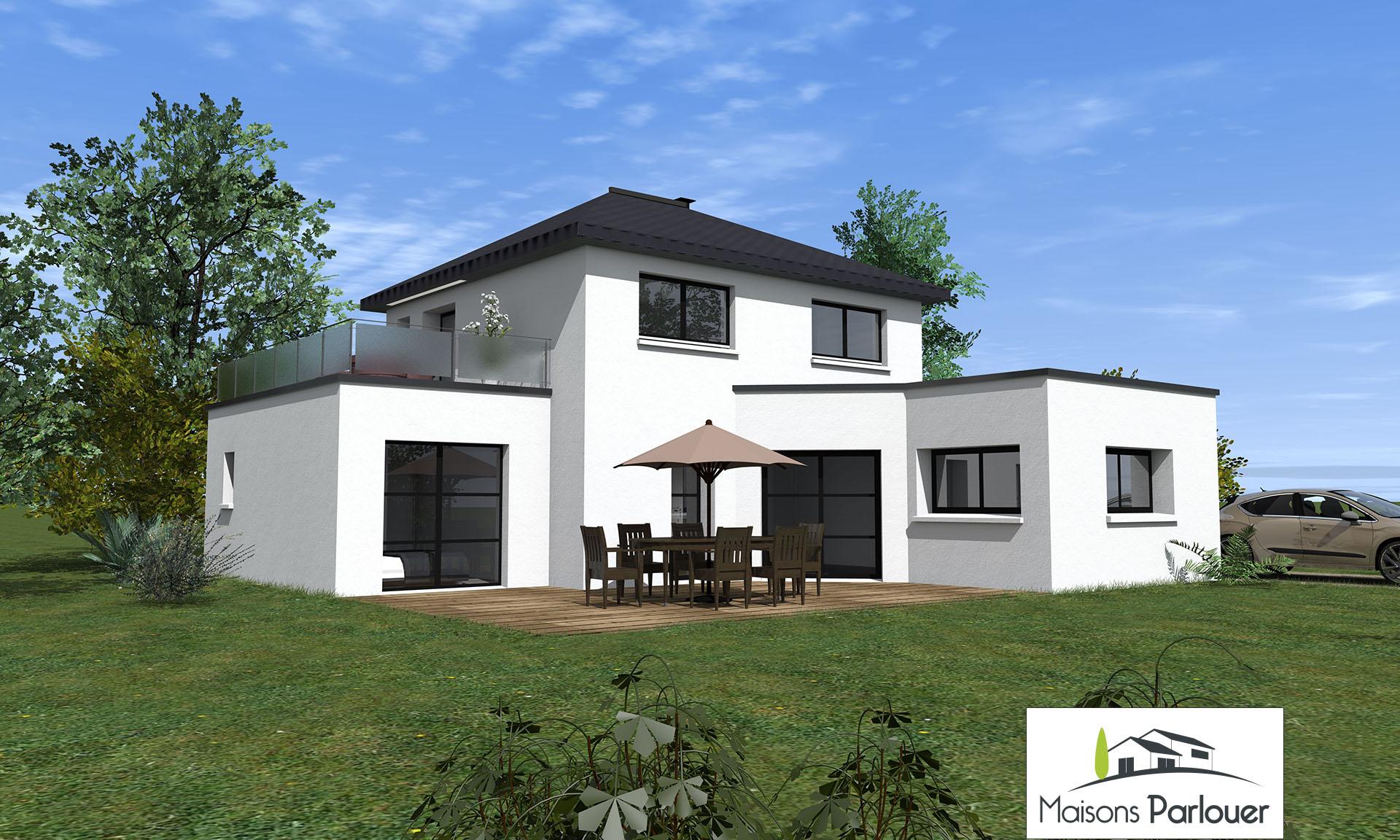 projets d 39 une superficie entre 100 et 130 m2 non cat goris. Black Bedroom Furniture Sets. Home Design Ideas