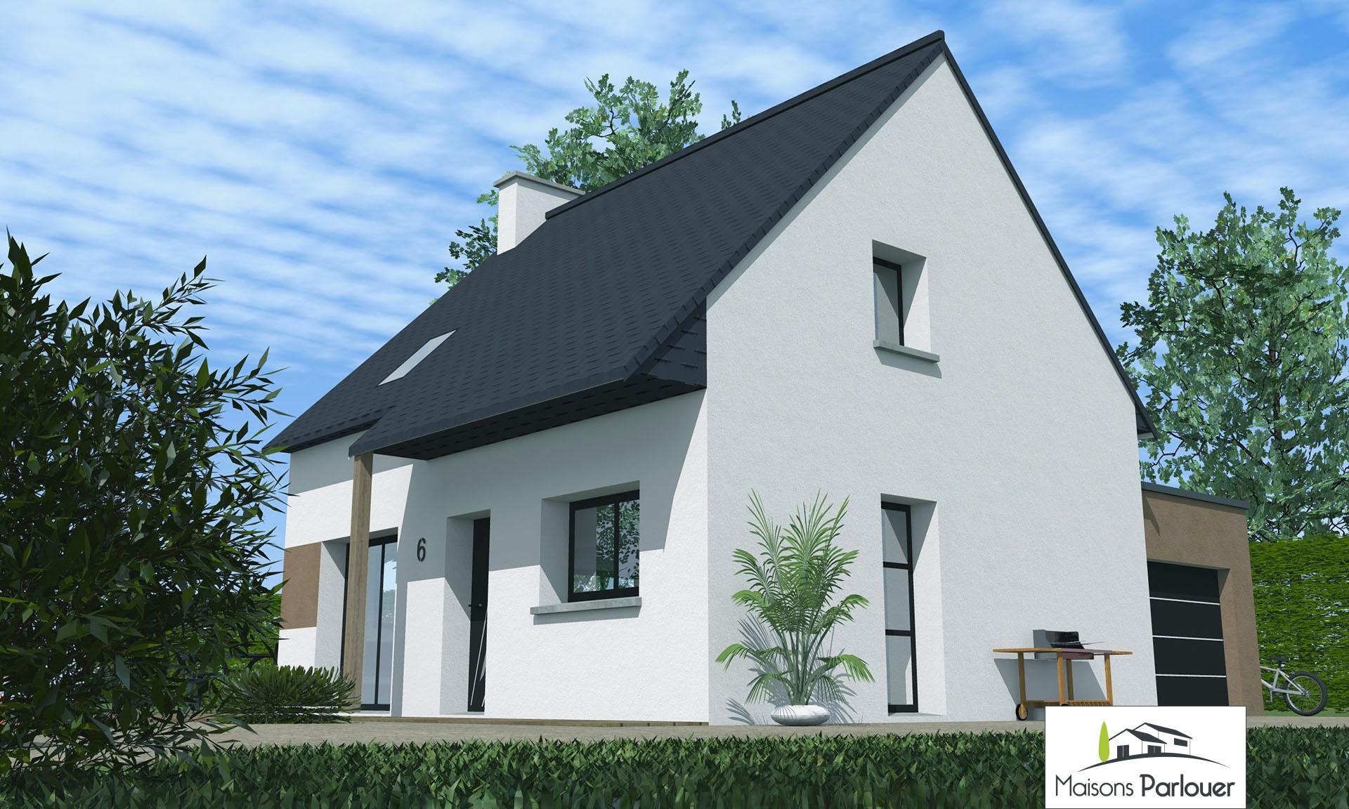 Projets d 39 une superficie inf rieure 100m2 non cat goris for Maison traditionnelle 100m2